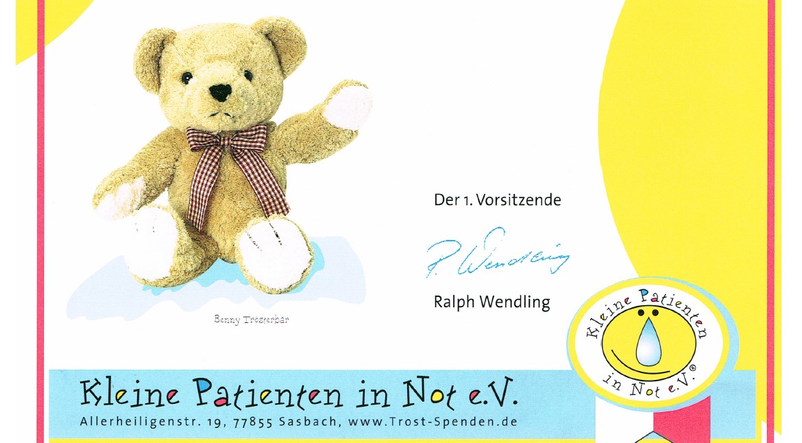Kleine Patienten in Not e.V.